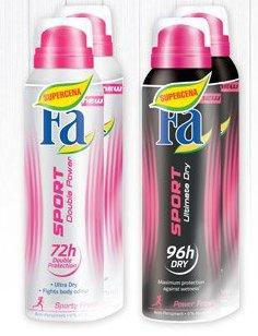 Dezodorat w sprayu Fa Sport 2x150ml