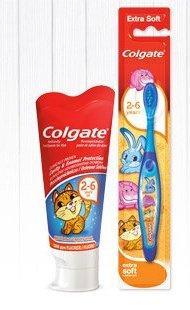 Pasta do zębów dla dzieci Colgate, 50 ml lub szczoteczka dla dzieci Colgate