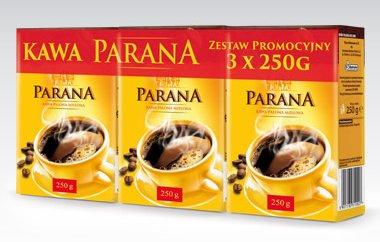 Kawa mielona Parana, 3-pak