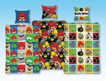 Komplet pościeli Angry Birds