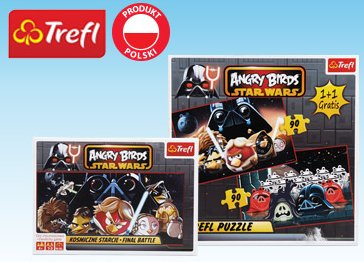 Puzzle lub gra Angry Birds