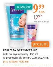 PERFECTA OCZYSZCZANIE Żele do mycia twarzy, 150 ml, w promocji cała seria OCZYSZCZANIE,
