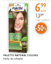 PALETTE NATURAL COLORS Farby do włosów