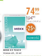 MEXX ICE TOUCH Woman edt.,
