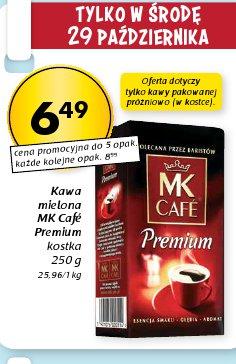 Kawa mielona MK Café Premium kostka
