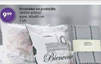 Poszewka na poduszkę (różne wzory) wym. 45x45 cm