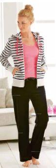 Spodnie damskie welurowe