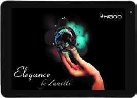 Kiano TABLET KIANO ELEGANCE BY ZANETTI