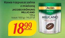Kawa rozpuszczalna z mieloną Jacobs Kronung Millicano
