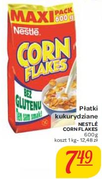 Płatki kukurydziane Nestle Corn Flakes