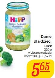 Danie dla dzieci Hipp