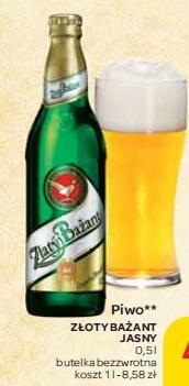 Piwo Złoty Bażant Jasny