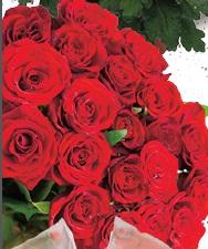 Róża w bukiecie