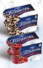 Jogurt Fantasia różne rodzaje Danone