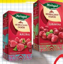 Herbata Herbaciany Ogór różne rodzaje Herbapol