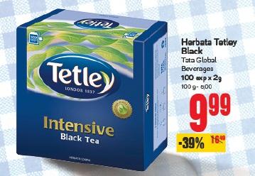 Herbata Tetley Black Tata Global Beverages