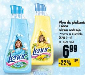 Płyn do płukania Lenor różne rodzaje Procter & Gamble