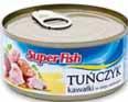 Tuńczyk kawałki SuperFish 170 g