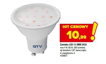 Żarówka LED 15 SMD 2835
