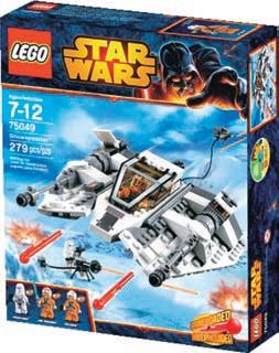 Klocki Technic Buldożer lub Star Wars Snowspeeder