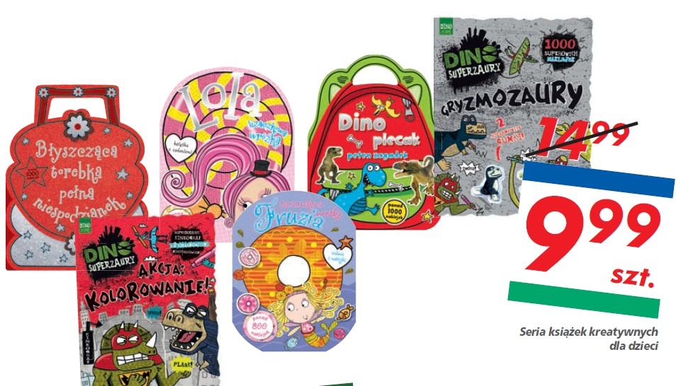 Seria książek kreatywnych dla dzieci