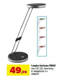 Lampka biurkowa PAOLO