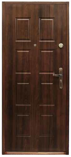 Drzwi stalowe zewnętrzne VIKTORIA