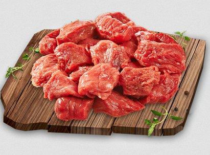 Mięso wołowe na gulasz, 500 g