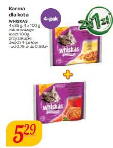 Karma dla kota Whiskas