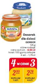 Deserek dla dzieci Gerber