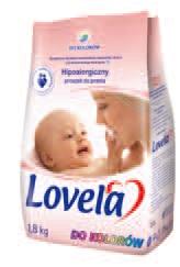 Proszek, mleczko do prania dla dzieci Lovela