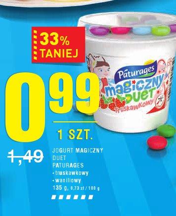 Jogurt magic zny duet pat urages • truskawkowy • waniliowy