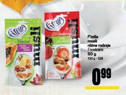Fitella musli różne rodzaje Foodcare