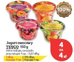 Jogurt owocowy Tesco 150 g