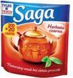 Herbata Saga 200 tb.x 1,4 g + 20% gratis