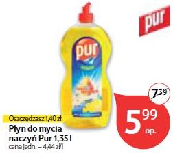 Płyn do mycia naczyń Pur 1,35 l