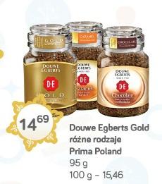 Douwe Egberts Gold różne rodzaje Prima Poland