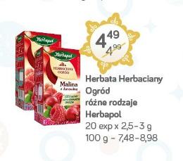 Herbata Herbaciany Ogród różne rodzaje Herbapol