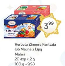 Herbata Zimowa Fantazja lub Malina z Lipą Malwa