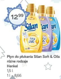 Płyn do płukania Silan Soft & Oils różne rodzaje Henkel