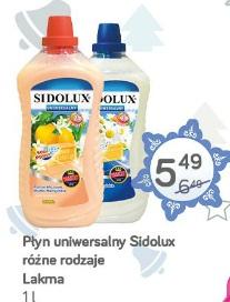 Płyn uniwersalny Sidolux różne rodzaje Lakma