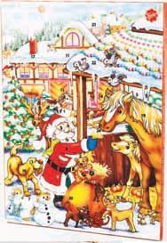 Kalendarz adwentowy Friedel