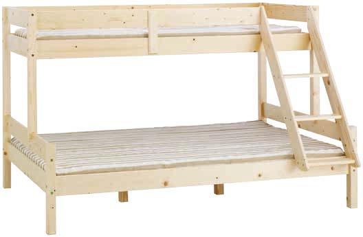 Łóżko piętrowe Hjallerup