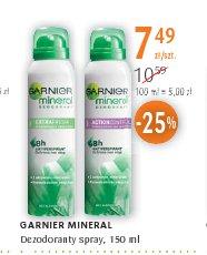 GARNIER MINERAL Dezodoranty spray,