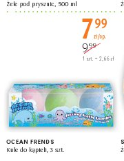 OCEAN FRENDS Kule do kąpieli,