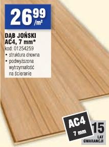 Dąb Joński AC4, 7 mm