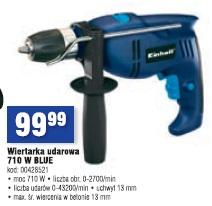 Wiertarka udarowa 710 W Blue