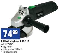 Szlifierka kątowa BAG 115