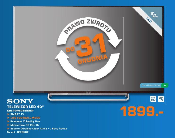 """Sony Telewizor LED 40"""" KDL40W605BBAEP"""