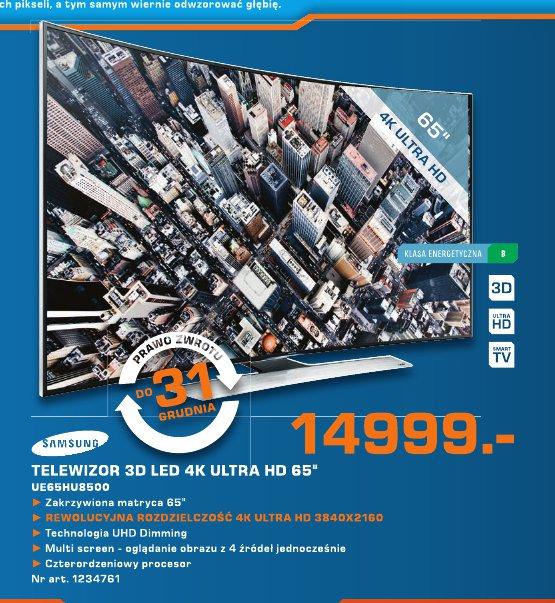 "Samsung Telewizor 3D LED 4K Ultra HD 65"" UE 65HU8500"